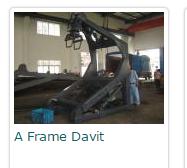 A Frame Davit