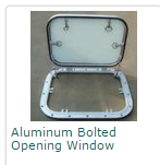 Aluminum Bolted Opening Window