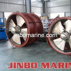 Electric-generator-bow-thruster
