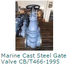 Marine Cast Steel Gate Valve CBT466-1995