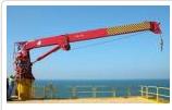 Marine Davit and crane