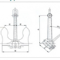 Marine Mooring Equipment - Marine Stockless Anchor2