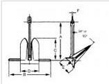Moorfast Anchor